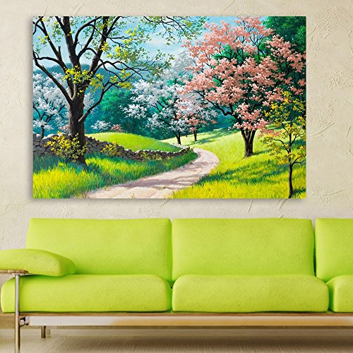 Buy Inephos Unframed Canvas Painting Beautiful Nature Modern Art