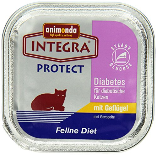 Animonda Integra Protect Diabetes mit Geflügel (16 x 100 g) Pet-diabetes-tag