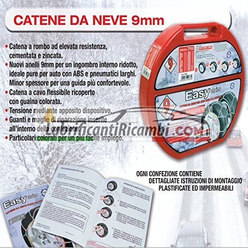 Arexons-Petronas-Catene-da-Neve-auto-9-mm-Easy-omologate-TUV-e-GS-Onorm-Misura-120