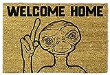 1art1® E. T. - El Extraterrestre - Et Welcome Home Felpudo Alfombrilla (60 x 40cm)