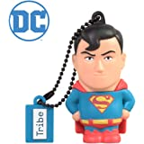 Tribe Warner Bros DC Comics Superman USB Stick 16GB Speicherstick 2.0 High Speed Pendrive Memory Stick Flash Drive…