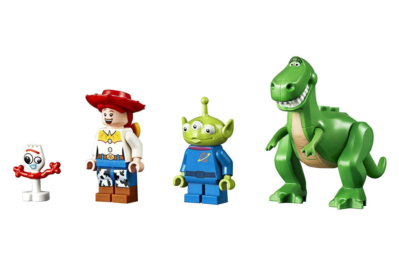 LEGO Juniors Toy Story 4 Vacanza in Camper, Gioco per Bambini, Multicolore, 282 x 262 x 76 mm, 10769 4 spesavip