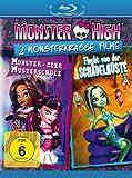 Monster High - 2 monsterkrasse Filme: Monster- oder Musterschule & Flucht von der Schädelküste [Blu-ray]