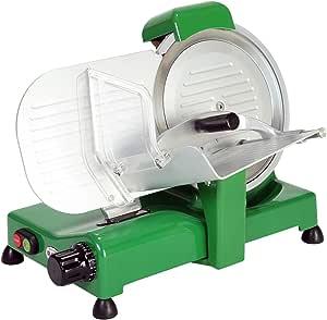 RGV Special Edition 25 Affettatrice, 140 W, Struttura in Alluminio Fuso, Base Laccata, Verde