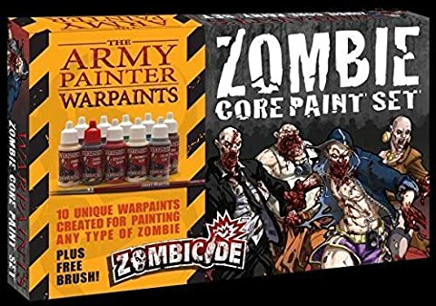 Zombicide Core Paint Set Army Painter by Army