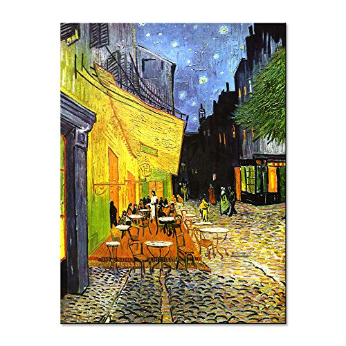 Wieco Art - Cafe Terrace at Nigh...