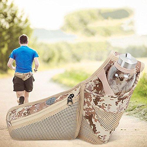 BUSL Wandern Hüfttaschen Outdoor-Sport-Männer und Frauen laufen Ma Lasong persönlichen Multifunktions-Handy-Gürteltasche a