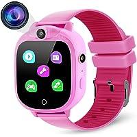Prograce - Orologio digitale per bambini, con fotocamera digitale, con giochi, lettore musicale, contapassi, contapassi…