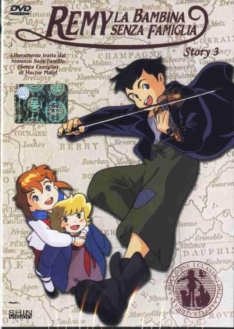 Remy La Bambina Senza Famiglia Story 03 Dvd