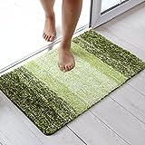 LIUXINDA-DT toilette toilette matte matte tür badezimmertür bad, schlafzimmer teppich haushaltswasser antiskid matte 50 x 80 cm,50 x 80 cm,grüne