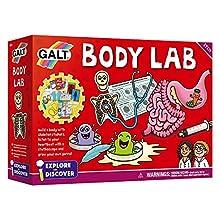 Galt Toys Body Lab, Biology Science Kit for Children