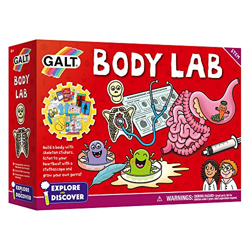 Galt Toys Body Lab, Biology Science Kit para niños
