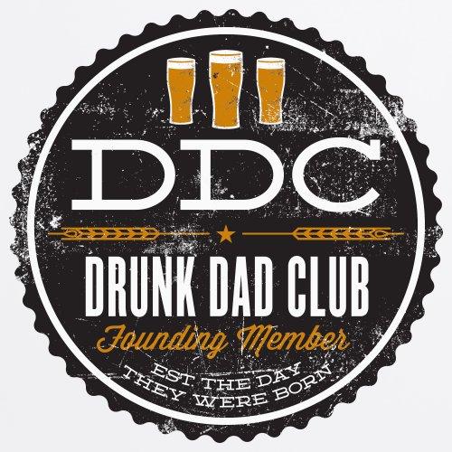 Drunk Dads T-shirt, Uomo Bianco