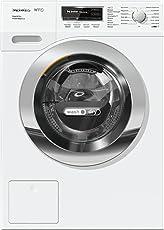 Miele WTF 130 WPM Waschtrockner für beste Wasch- & Trockenergebnisse/Energieklasse A (896 kWh/Jahr)/Waschtrockner Kombi mit Dampffunktion/Waschmaschine mit Trockner (4kg) und 7kg Schontrommel/weiß