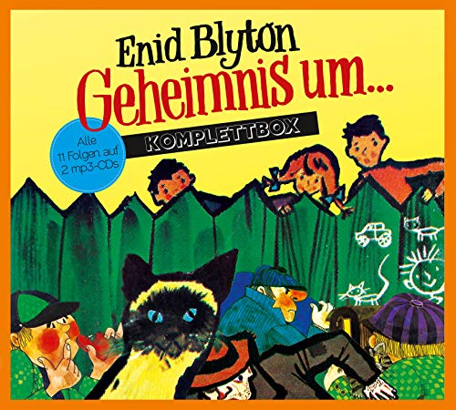 Enid Blyton - Geheimnis um... Komplettbox, Audio-CD (Geheimnis Cd)