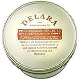 DELARA Baume d'entretien pour Cuir de Haute qualité avec jojoba et Cire d'abeille - protège efficacement Le Cuir Lisse du des
