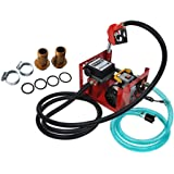 Bomba de transferencia de combustible diesel eléctrica contador automático bomba de combustible boquilla de combustible/aceit