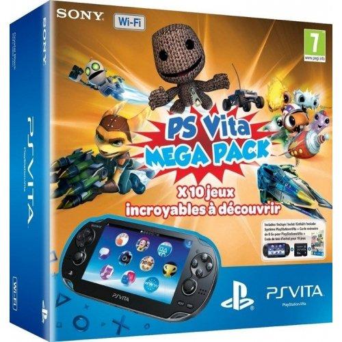 Console Playstation Vita Wifi + Kids Pack voucher ( 10 Jeux) + Carte Mémoire 8 Go