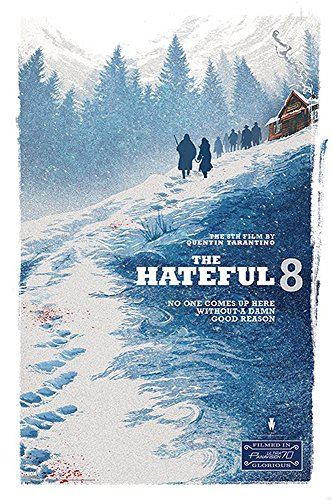 Preisvergleich Produktbild The Hateful Eight Poster Mountain Teaser (61cm x 91,5cm)