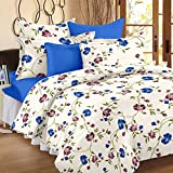 #7: Duvet Cover - Double Size - Premium Cotton - Floral Duvet / Quilt / Comforter cover with zipper by Ahmedabad Cotton - 90 x 100 inches