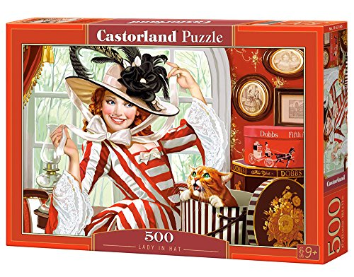 - Lady in Hat, Puzzle 500 Teile ()