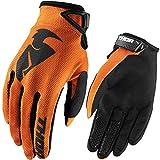Thor Sector Kinder Motocross Handschuhe Offroad Enduro Quad Mx Sx Fr Schwarz Orange Grün Rot Blau (S, Orange)