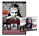 Sonic Seducer 10-2017 mit Marilyn Manson Titelstory zum Album Heaven Upside Down + 20 S. M'Era Luna Special + CD mit 23 Tracks + John Sinclair Trading Cards, Bands: The Crüxshadows, DAF, IAMX u.v.m.