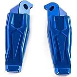 CNC M6 for moto Repose-pieds Repose-pieds Repose-pieds arri/ère Peg p/édales Set for Yamaha MT07 MT09 FZ07 FZ09 R3 R25 R1 R6 Couleur : Black