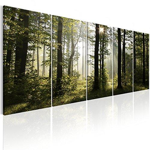 murando - Bilder Wald 225x90 cm - Leinwandbilder - gebraucht kaufen  Wird an jeden Ort in Deutschland