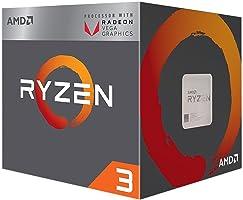AMD Ryzen 3 2200G İşlemci, 3.5/3.7GHz AM4