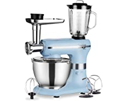 Aifeel Kitchen Mixers - 1200W Multifunction Electric Stand Mixer - with 5L Food Grade Bowl, Mixing Accessories, Food Grinder,
