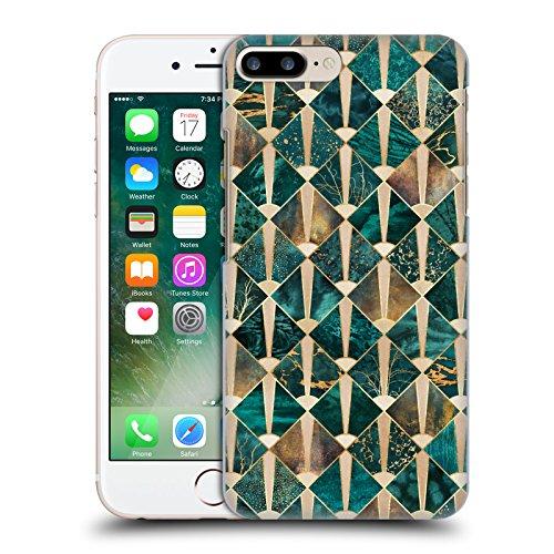 Offizielle Elisabeth Fredriksson Blaues Glas Geometrisches Designs Und Muster Ruckseite Hülle für Apple iPhone 6 / 6s Art Deco Fliesen - Ozean