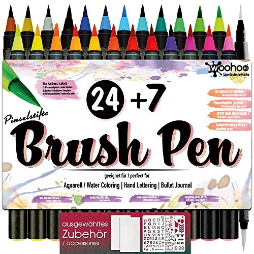 Brush Pen Set Pinselstifte