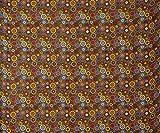 Indian Kreise Kimono Seide Fabric 42