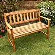 BillyOh Signature Acacia 2 Seater Wooden Garden Bench