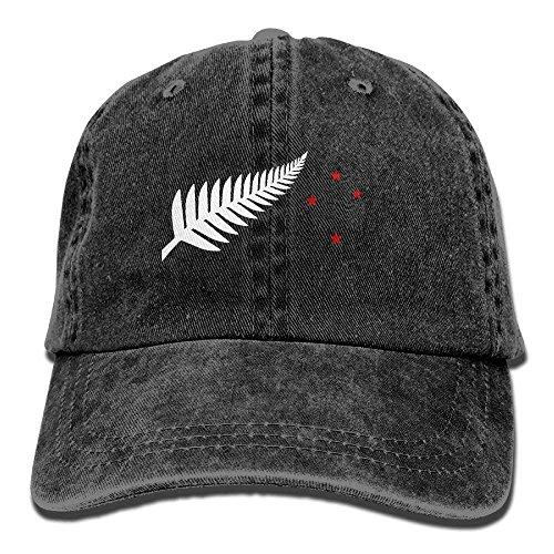 longkouishilong Hüte,Kappen Mützen New Zealand Flag Maori Fern Stars Denim Hat Adjustable Mens Baseball Caps Womens Vintage-pink Camo