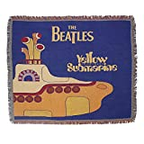 Beatles Yellow Submarine Tapisserie gewebte Decke Teppiche Überwurf Rock n Roll Musik Art Decor Home Dekorative Wandbehänge Afghanen