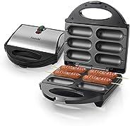 Saachi 6-pieces Hot Dog Maker - Nl-hd-1529 Black