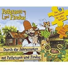 Pettersson und Findus, Puzzlebuch, Band 3: Durch die Jahreszeiten mit Pettersson und Findus