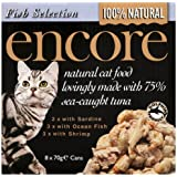 Encore Cat Food Tin Fish Multipack, 70g, Pack of 4 x 8 x 70g