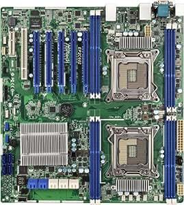 ASRock EP2C602 Carte mère pour serveur avec Socket 2011, Intel C602, DDR3, S-ATA 600, SSI EEB
