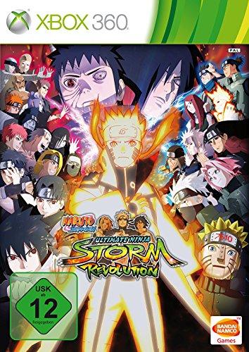 Naruto Shippuden: Ultimate Ninja Storm Revolution - Rivals Edition (360 Naruto Xbox Spiele)
