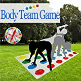 Hualedi Board Games for body, kids board game, kids adults[no box, Simple packaging] Family Kids Learning Toys Party Game Picnic Outdoor Sport Toy Gift