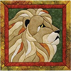 Quilt Magic 12 X 12-inch Lion Kit