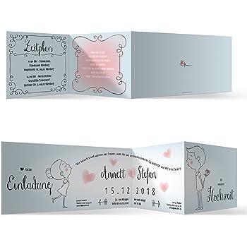 30 X Hochzeit Einladungskarten Hochzeitseinladungen Hochzeitskarten