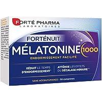 Forté Pharma - Mélatonine 1000 | Complément Alimentaire Sommeil - A base de Mélatonine dosée à 1g - Endormissement…