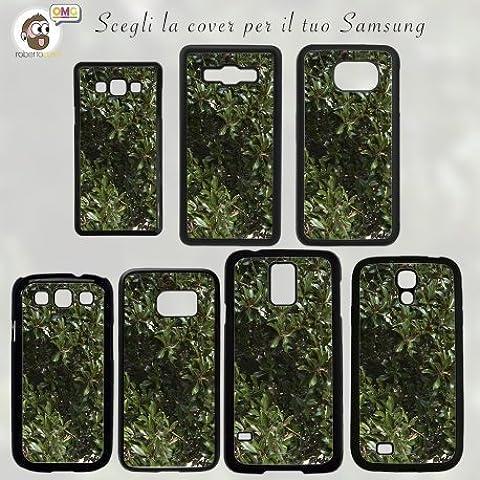 COVER Foglie Cespuglio photo by Tommaso Monti Samsung S2 S3 S4 S5 S6 NOTE 2 3 4 Mini Edge Case Mascherina Custodia - Galaxy E5