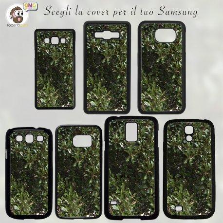 COVER Foglie Cespuglio photo by Tommaso Monti Samsung S2 S3 S4 S5 S6 NOTE 2 3 4 Mini Edge Case Mascherina Custodia - ACE 4