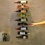 TLMY Arazzi appesi al muro della parete del ristorante della casa di attaccatura di vino d'annata dello scaffale Cremagliera del vino (dimensioni : F.)