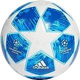 adidas Herren Finale 18 Top Trainingsfußball, White/Fooblu/Brcyan, 5
